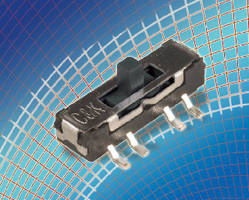 Slide Switch suits space-constrained applications.