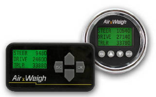 Truck and Tractor Scales offer in-cab display option.