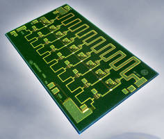 Distributed Power Amplifier serves DC to 20 GHz applications.