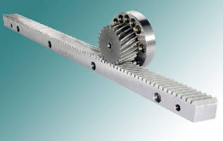 Precision Gear Racks suit machine tool and aerospace industries.