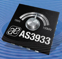 Three-Channel Wake-Up Receiver has 15-150 kHz frequency range