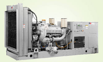 MTU Onsite Energy Series 1600 Generator Set Receives Gold Award in 2010 Product of the Year Competition