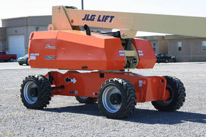 Engine Powered Boom Lifts are offered with steel hoods.