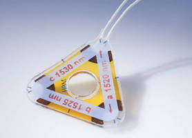 Optical Strain Gage comes in rosette form.