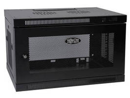 Wall-Mount Enclosure Cabinet offers compact 6U design.