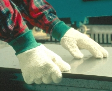 Terry Gloves resist absorption of liquids and oils.