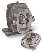 Positive Displacement Pump has clean in place design.