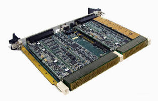 OpenVPX I/O Card supports up to 6 function modules.