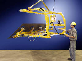 C-Frame Vacuum Lifter facilitates sheet and panel inspection.