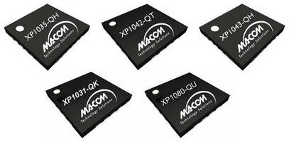 SMT Power Amplifiers suit point-to-point radio market.