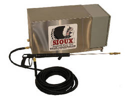 Electric Pressure Cleaning System targets food-related businesses.