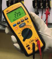 Digital Insulation Meter safeguards equipment, employees.