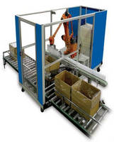 Robotic Packaging System reduces labor requirements.