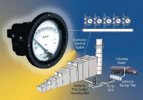 Mid-West Instrument's Model 130 Monitors Ammonia-Air Mixture