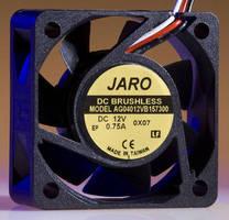 Electronics Cooling Fan generates 21 cfm air flow @15K rpm.