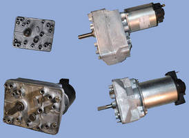 Gearboxes are designed to deliver quiet, smooth operation.