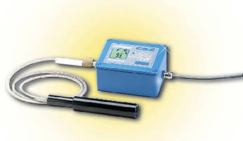 IR Thermometer/Transmitter measures temperature up to 4,500°F.