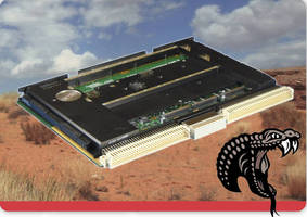 Low-Power, Rugged SBC supports military applications.