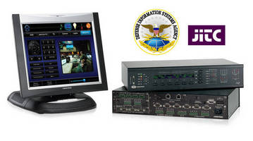 Joint Interoperability Test Command (JITC) Certifies Crestron Control Systems and Touchpanels Based on High Scores for Security, Compliance