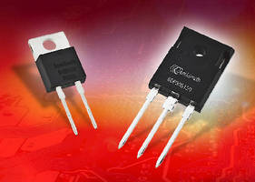 Wide Range of SiC Power Schottky Diodes from SemiSouth Includes Industry's Highest Current Part