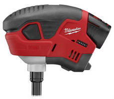 Cordless Electric Palm Nailer works in tight areas.