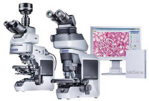 Upright Clinical Microscope offers imaging flexibility.