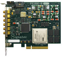High-Speed Digitizer Board has 1.5 GHz/channel sampling rates.