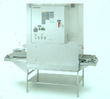 Conveyorized Oven has NEMA-12 enclosure.
