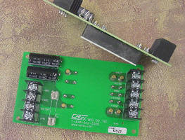 Chassis Mounting Kit supports half brick DC/DC converters.