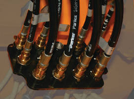 Hose System suits low-pressure hydraulic and pneumatic systems.