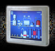 Analog Resistive Touchscreen PC features ultra-slim design.