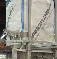 Massage Therapy for Bulk Bag Dischargers from Spiroflow Systems Helps Compacted or Otherwise Difficult Materials