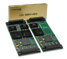 I/O Modules offer single/dual MIL-STD-1553 interface.