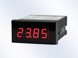 Digital Panel Meter offers remote control option.