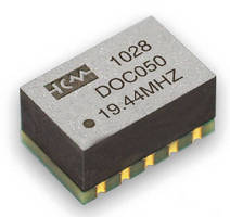 Ovenized Oscillators offer stability from ±20 to ±100 ppb.