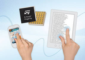 Capacitive Touchscreen Controller supports thin displays.