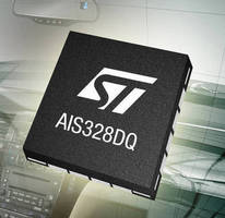Automotive 3-Axis Accelerometer is AEC-Q100 qualified.