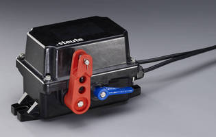 Emergency Pull-Wire Switch suits heavy-duty applications.