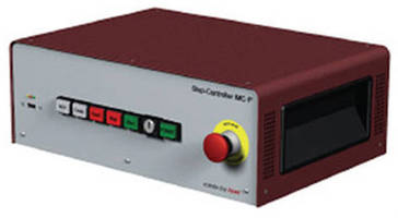 Multi-Axis Stepper Controller offers all-in-one design.