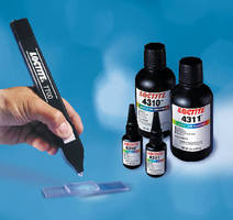 Light Cure Adhesives offer impact and fracture resistance.