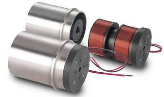 BEI Kimco Magnetics Voice Coil Actuator Solves Demanding Application Requirements for High Force Density Capabilities