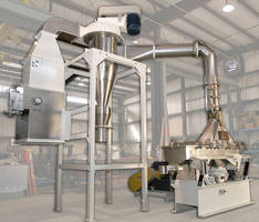 Food Grade Dryer/Classifier integrates fines collection.