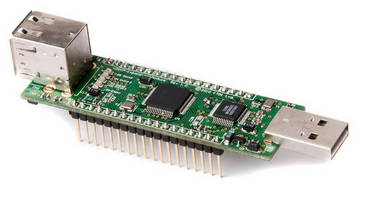 USB Serial/Hub Module facilitates system development efforts.