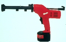 Caulk and Adhesive Gun is built on a T-handle platform.