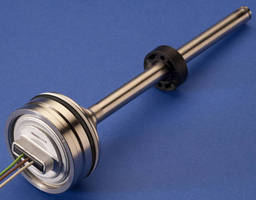 Non-Contact Linear Position Sensor mounts in cylinder.