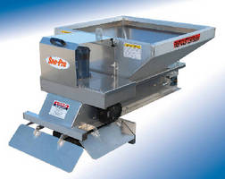 Aluminum Spreader provides snow and ice control.