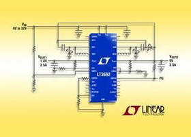 Step-Down DC/DC Converter offers transient protection to 60 V.