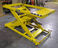 Electric Ball Screw Scissor Lift Table is optimized for control.