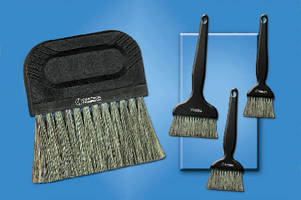 Anti-Static Brush eliminates damage to sensitive lab work.