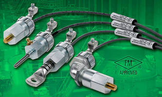 FM-Approved Temperature Sensors have built-in conduit adapters.